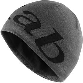 Rab Logo Beanie Men grit/beluga